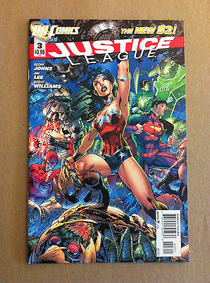 Justice League (New 52) #3 Near Mint First Printing Geoff Johns Jim Lee 2012