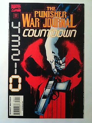 "Punisher War Journal #80 ""countdown 0"" Final Issue Last Fn- 1St Printing 1995"