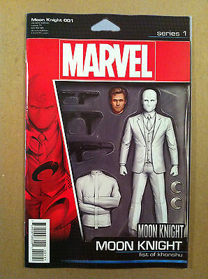 Moon Knight V.5 #1 Action Figure Variant Cover Jeff Lemire Nm 1St Printing 2016