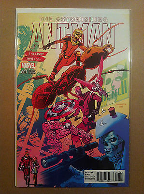 "Astonishing Ant-Man #7 Chris Samnee ""story Thus Far"" Variant Cover Nm 1St Print"