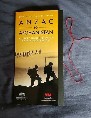 Anzac to Afghanistan Australia full coin set