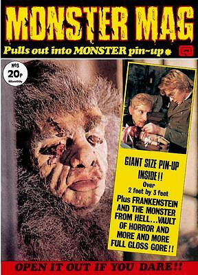 Monster Mag #3 - stunningly remastered Quality edition of the 1973 classic! vf