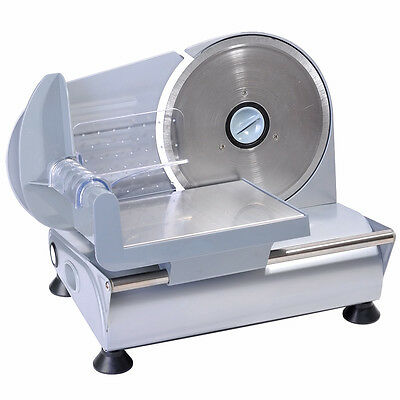 19cm Electric Meat Stainless Steel Blade Slicer Cheese Food Cutter Kitchen Home