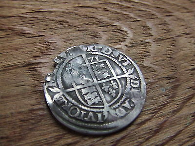 ELIZABETH 1st  1558- 1603.  SILVER SIXPENCE. 1571.  NICE CONDITION.