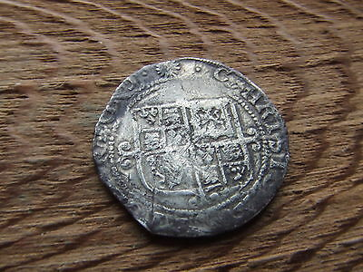 CHARLES 1st  1625-1649.  SILVER SHILLING.  PARLIMENT ISSUE.   NICE CONDITION.