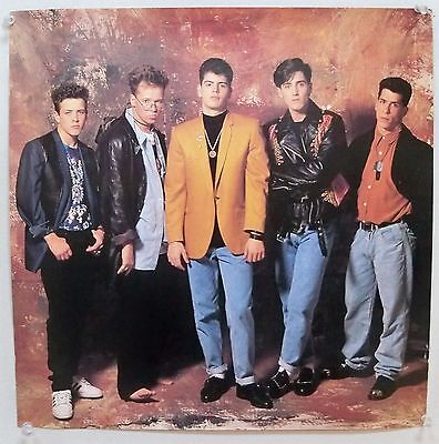 1997 New Kids On the Block Poster NOS
