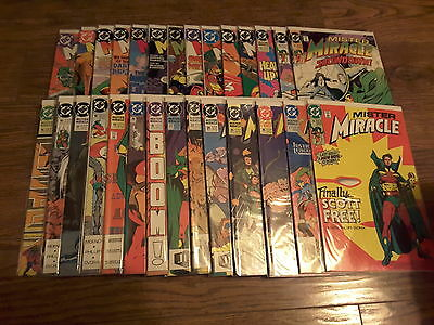 Mister Miracle COMPLETE Set of 1-28 by DC Comics