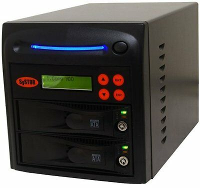Systor 1:1 SATA Hard Disk Drive / Solid State Drive (HDD/SSD) Clone Duplicator/S