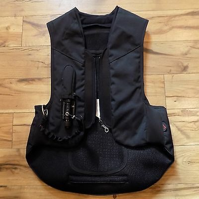 NEW Adult Small Point Two Hunter Style Body Protector Vest $675 Black Eventing