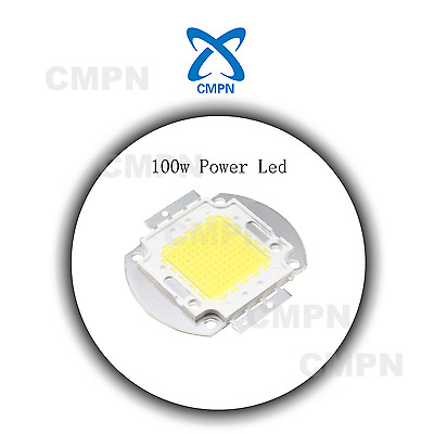 1Pcs High Power 100W LED White 6000-6500k LED Buld Flood Light Diodes SMD Chip