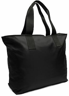 Large Tote Bag For Beach, Shopping, Gym With Double Top Zipper And Long Handl...