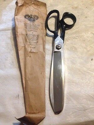 Antique 11 Inch Wiss Taffy Glass Candy Shears Scissors