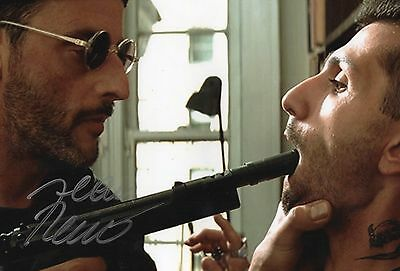 Authentic Signed Jean Reno 12 X 8 Leon Photo.. Real Signature...coa...rare.