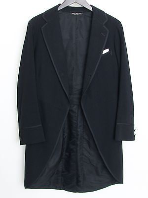 Antique Brooks Brothers cutaway or morning coat, early 1900's/1910's, ~34R