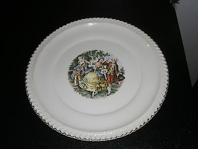 Beautiful Harker Pottery Dinner Plates George & Martha Colonial