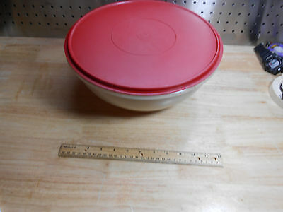 Large 26 Cup Tupperware Mixing Salad Bowl With Lid 274 224