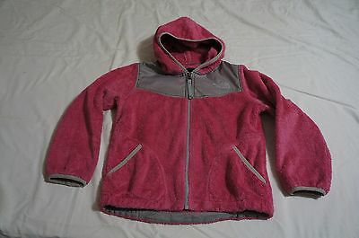 Youth Girls The North Face Osito Hooded Jacket SP (7/8 ) Pink