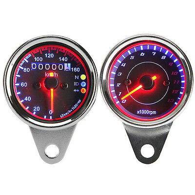 Speedometer Odo Tachometer For Honda Shadow Spirit VT 750 1100 CBR 600 1000 RR