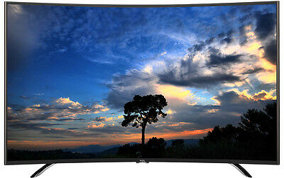 "TCL 55"" 139cm Full HD LED LCD Curved Smart TV with Netflix L55H8000CFS #743078"