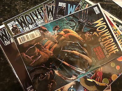 Wolverine The Best There Is (2010 Series) 1 2 3 4 5 6 7 8 Marvel Comics Lot