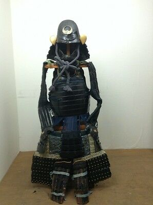 The Kabuto and Armor Full Set Japanese Traditional Used SAMURAI,Real Fight,Rare