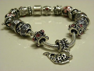 NEW fashionable bracelet with special metal beads
