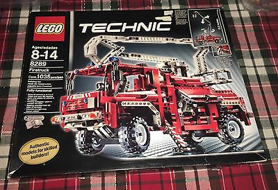 LEGO Technic FIRE TRUCK/ RESCUE VEHICLE (8289) SEALED, Damaged Box, Seals intact