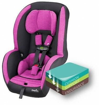 Evenflo Advanced Sensorsafe Titan 65 Convertible Car Seat, Cherry Blossom