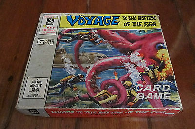Voyage To The Bottom Of The Sea Card Game 1964 Complete