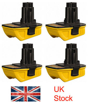 4 Adapter For Dewalt 20V battery Convert to 18V Can Use In 18Volt Cordless Drill