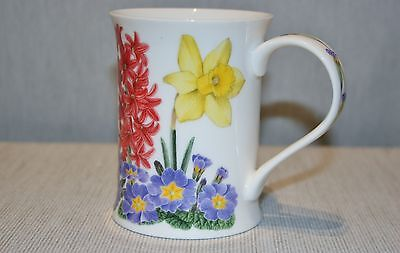 Dunoon PRIMAVERA  by Kathy Pickles Cup Mug Multi-colored flowers