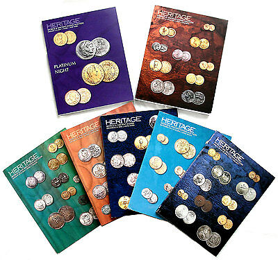 HERITAGE AUCTION - 2016 WORLD & ANCIENT COINS (7 Catalogs)