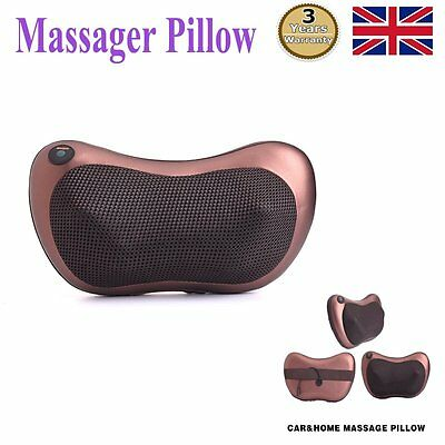 Electric Massage Pillow Neck Shoulder Shawl Massager With Heat Health Care