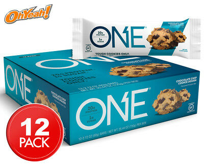 12 x Oh Yeah! ONE Protein Bars Choc Chip Cookie Dough 60g
