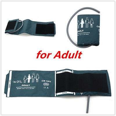 1pc Adult Single-tube Blood Pressure Cuff for Patient Monitor 6 Size Option