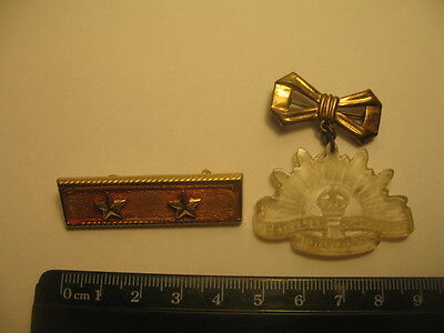 Vintage Australian Rising Sun Badge Pin Commonweath Military Forces Collectible