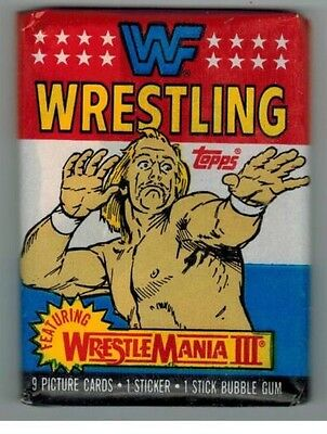 Rare Wwf Trading Cards Sealed Untouched