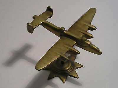 Brass Model Trench Art WW2 Aircraft the Halifax Bomber 1lb 2oz / 505g