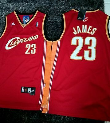 maillots NBA Lebron James Cleveland Cavaliers ,  taille M-L,  NEUF