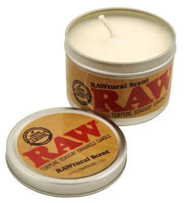 1x RAW Duftkerze RAWtural Scent Terpene Sensory Enhanced Candle