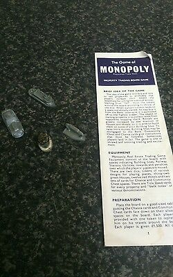 Monopoly spares