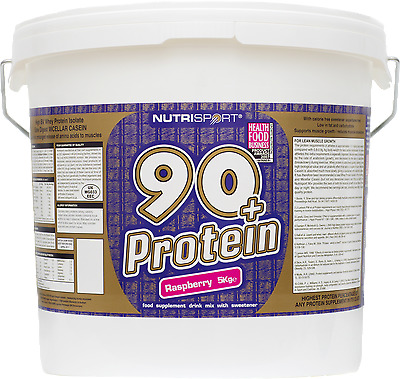 Nutrisport 90+ Whey Protein | All Flavours | All Sizes | Anabolic Powder