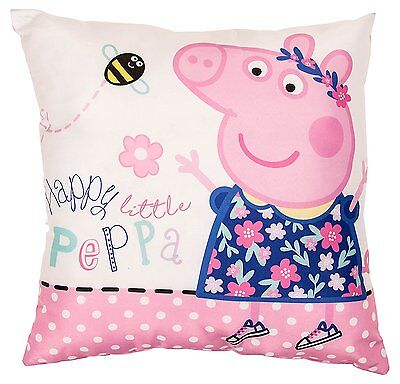 New Peppa Pig Kids Boys Girls Cushion / Pillow - Great Bedroom Accessories Gift
