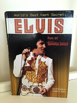 Elvis Sahara Tahoe Hotel Casino Book AUTOGRAPHED Signed by Author & Photographer