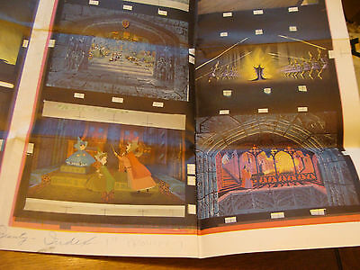 Vintage circa 1959 Print Sample Poster DISNEY SLEEPING BEAUTY BOOK 36X48,  #3