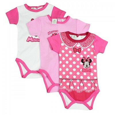 Minnie Mouse Body im 3er Pack