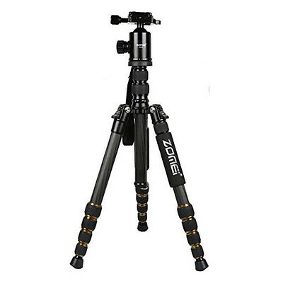 KS ZOMEI Z699C Carbon Fiber Portable Tripod with Ball Head Compact Travel for ,S