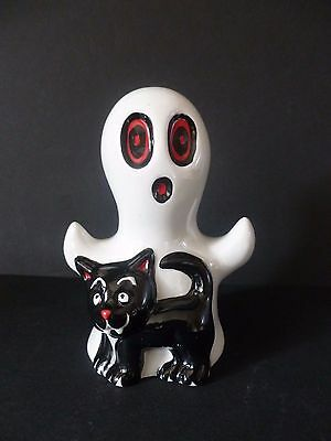 Lorna Bailey Spooky Halloween Ghost Cat Brand New Hand Painted & Signed