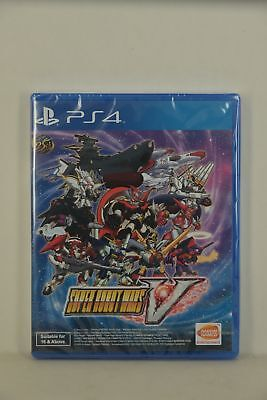 NEW PS4 Super Robot Taisen War Wars 5 V 超級機械人大戰V 機戰V (HK ENGLISH)-SHIP NOW!
