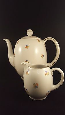 Sophienthal Fein Bayreuth Coffee Pot or Tea Pot and Creamer - 7800 - Germany